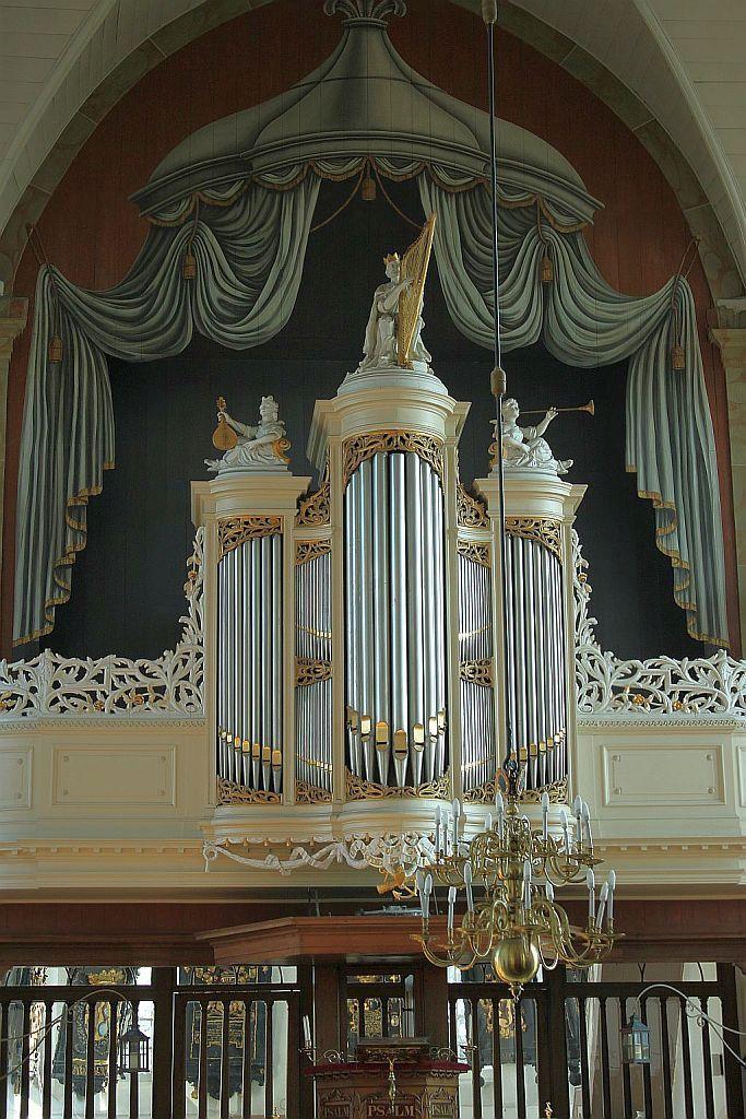 orgel Pieterskerk, Foto: Michiel van 't Einde